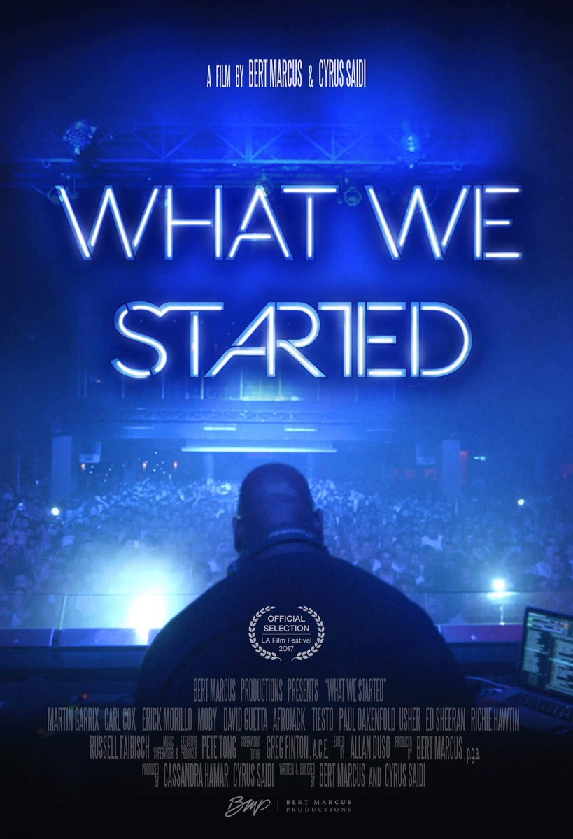 The new film #WhatWeStarted is available now on iTunes https://t.co/5cGvaDrgRo https://t.co/SdvdFMlMTd
