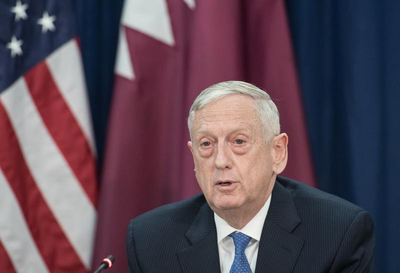 US Defence Secretary Mattis says picking up Taleban interest in Afghan peace talks