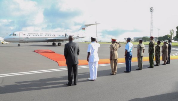 Uhuru to fly out of the country days after striking deal with Raila Odinga