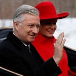 Canada : drapeau allemand pour accueillir le roi des Belges