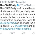 Uhuru and Raila 'honeymoon' on Twitter but will unity deal last?