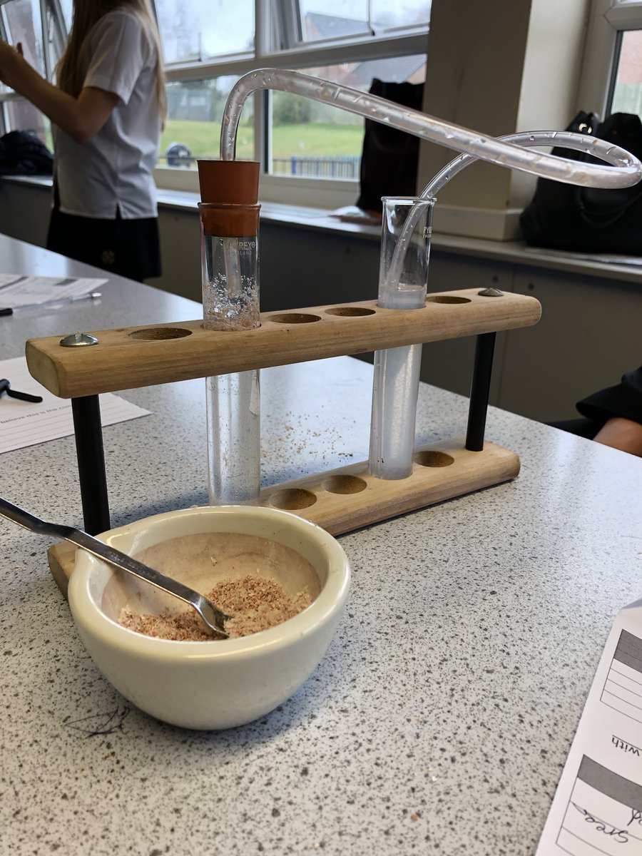 test Twitter Media - This morning year 10 were investigating the composition of egg shells using chemical tests. Fantastic science investigation skills shown by the whole class! https://t.co/LQzdwMMvVf