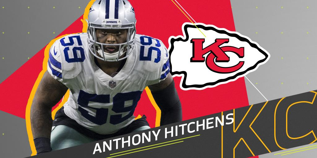 .@Chiefs to sign former Cowboys LB @AnthonyHitchens: https://t.co/Pz0TkfRFEo (via @RapSheet) https://t.co/HuZdE6I8E8