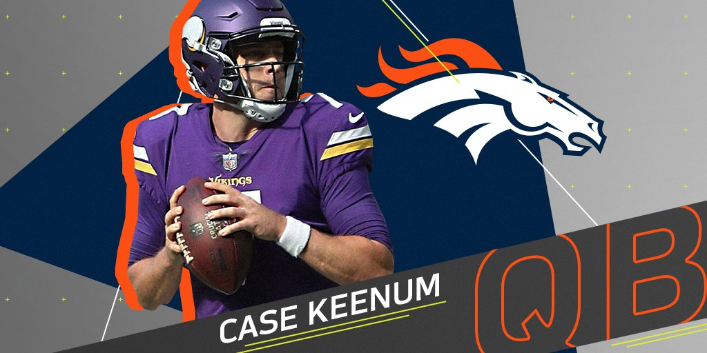 ICYMI: @casekeenum7 expected to sign with the @Broncos: https://t.co/NTMZAVPbjy https://t.co/XY7SU6BOxG