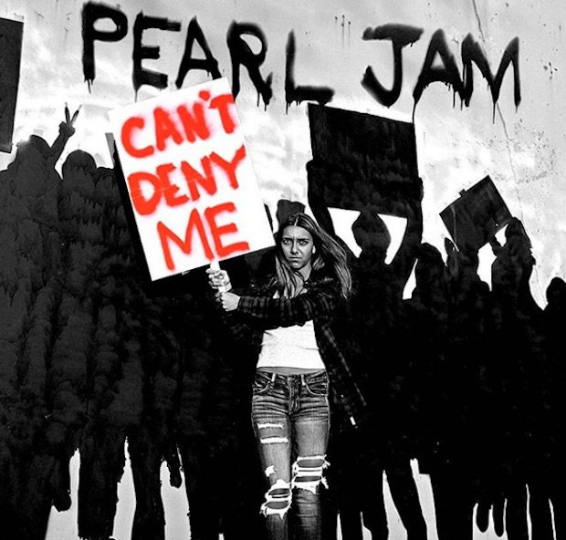 Hear @PearlJam take on the Trump era on their impassioned new single 'Can't Deny Me' https://t.co/ZGL5yvXb6M https://t.co/Sc07oSvz7b