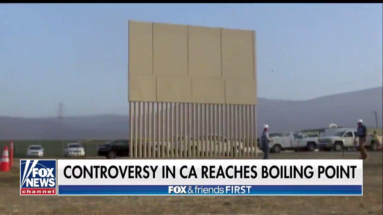 President #Trump visits San Diego today to survey border wall prototypes https://t.co/L6BjNn1qJ5 https://t.co/6rcmlIF9eM