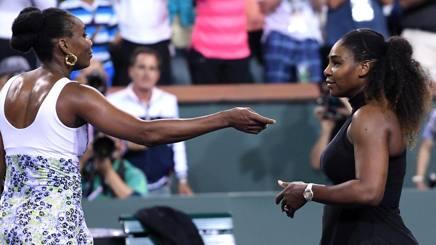 Indian Wells, Venus vince il derby con Serena