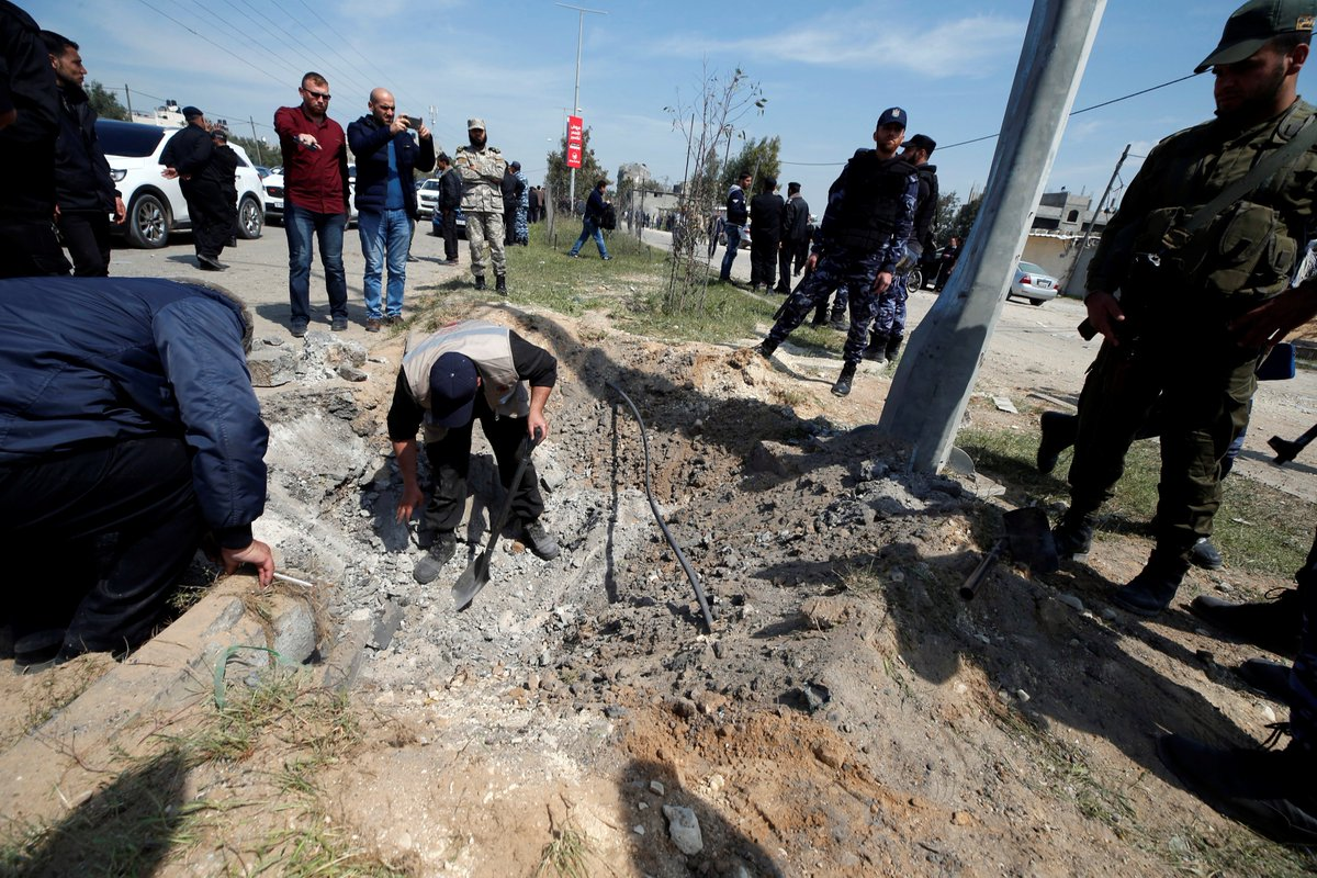 Palestinian PM unhurt after Gaza explosion which 'targets' his convoy