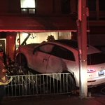 Driver, passenger of SUV flee after crashing into home in Little Italy: police