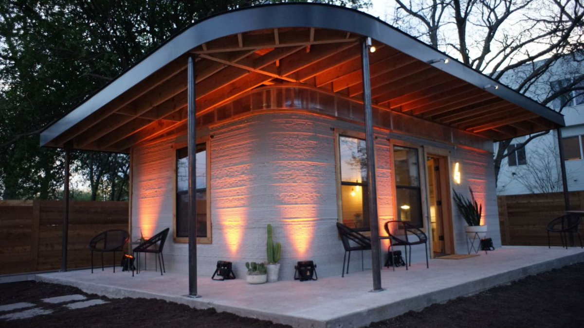 A Company Is Building 3D-Printed Homes For Just$10,000