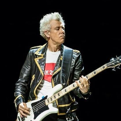 Happy Birthday Today 3/13 to U2 bassist Adam Clayton. Rock ON
