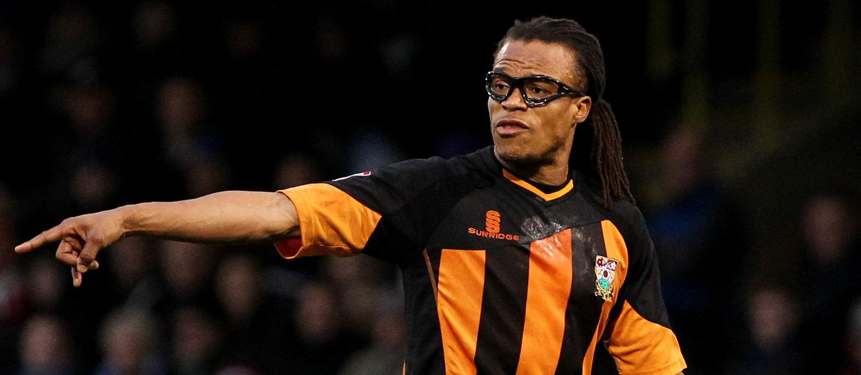 Happy birthday, Edgar Davids!  What a player, LOVED a tackle!