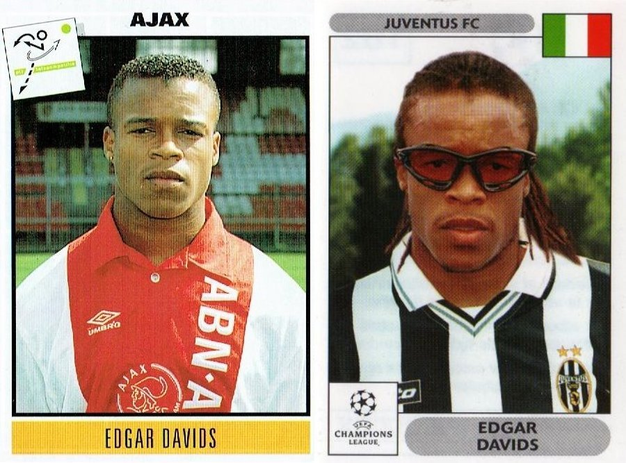 Happy Birthday to Edgar DAVIDS (Ajax Amsterdam 1993-94 & Juventus F.C 2000-01)
