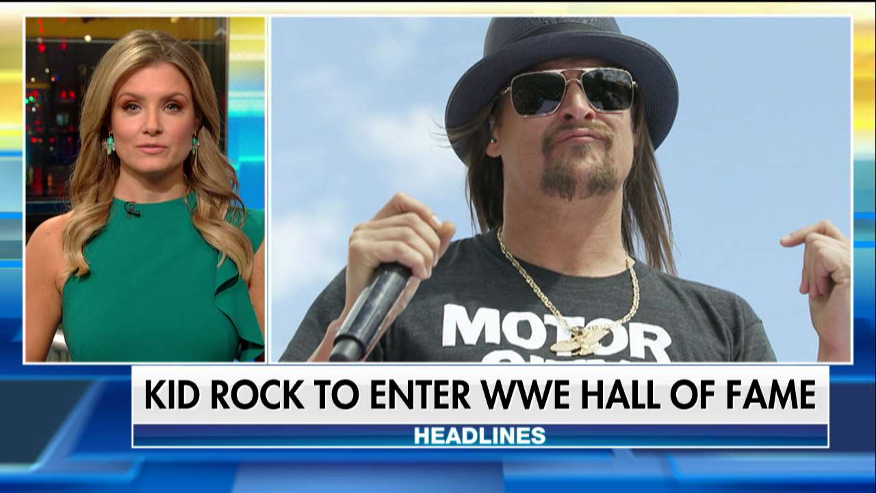 .@KidRock to be inducted into @WWE Hall of Fame https://t.co/tnaO8shpU4 https://t.co/My2uUlRnUm