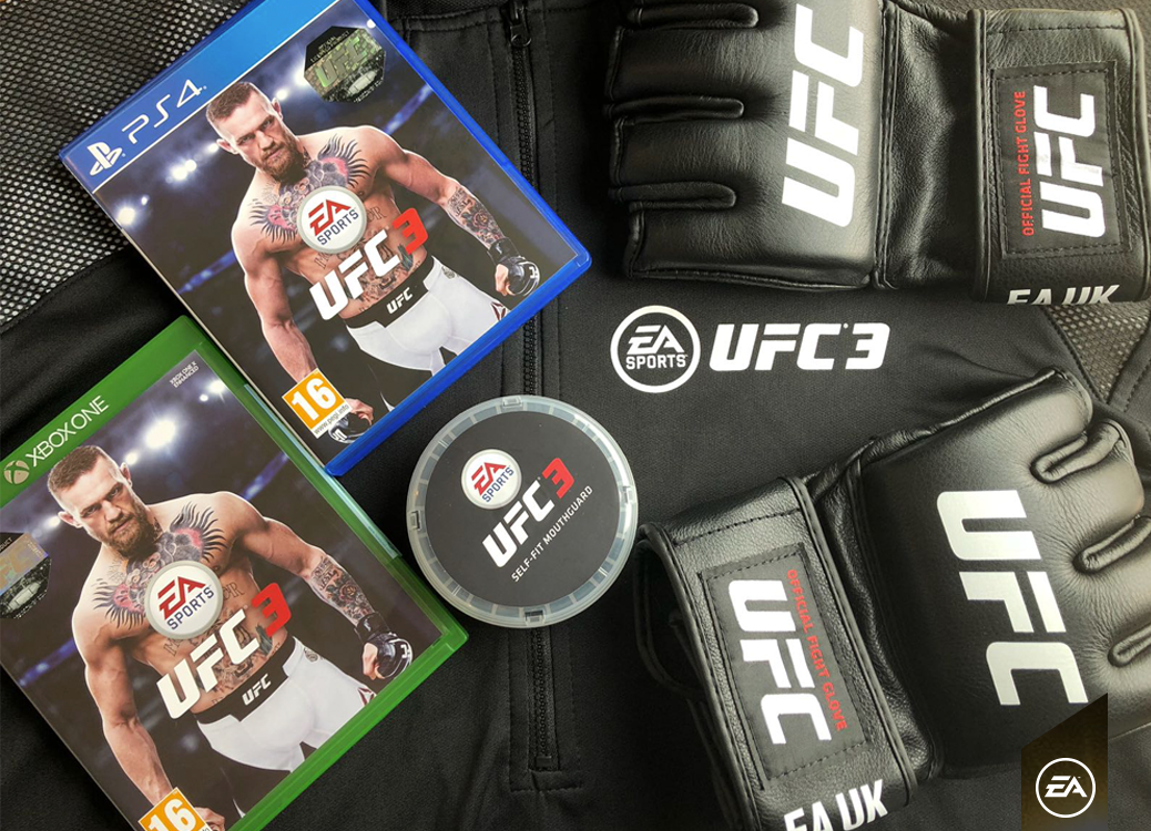 RT for the chance to win ����! Get yourself ready for #UFCLondon with this  #EAUFC3 kit !! �������� https://t.co/iYLZDN1tmL