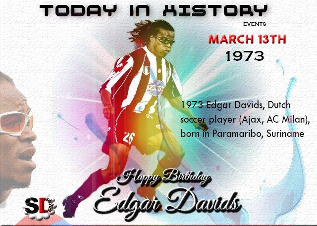 Happy birthday  EDGAR THE GREAT DAVIDS