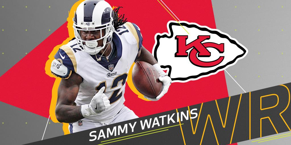 .@Chiefs to sign WR @sammywatkins to a three-year deal: https://t.co/Fms4DnTgb2 (via @RapSheet) https://t.co/gumG0trpAL