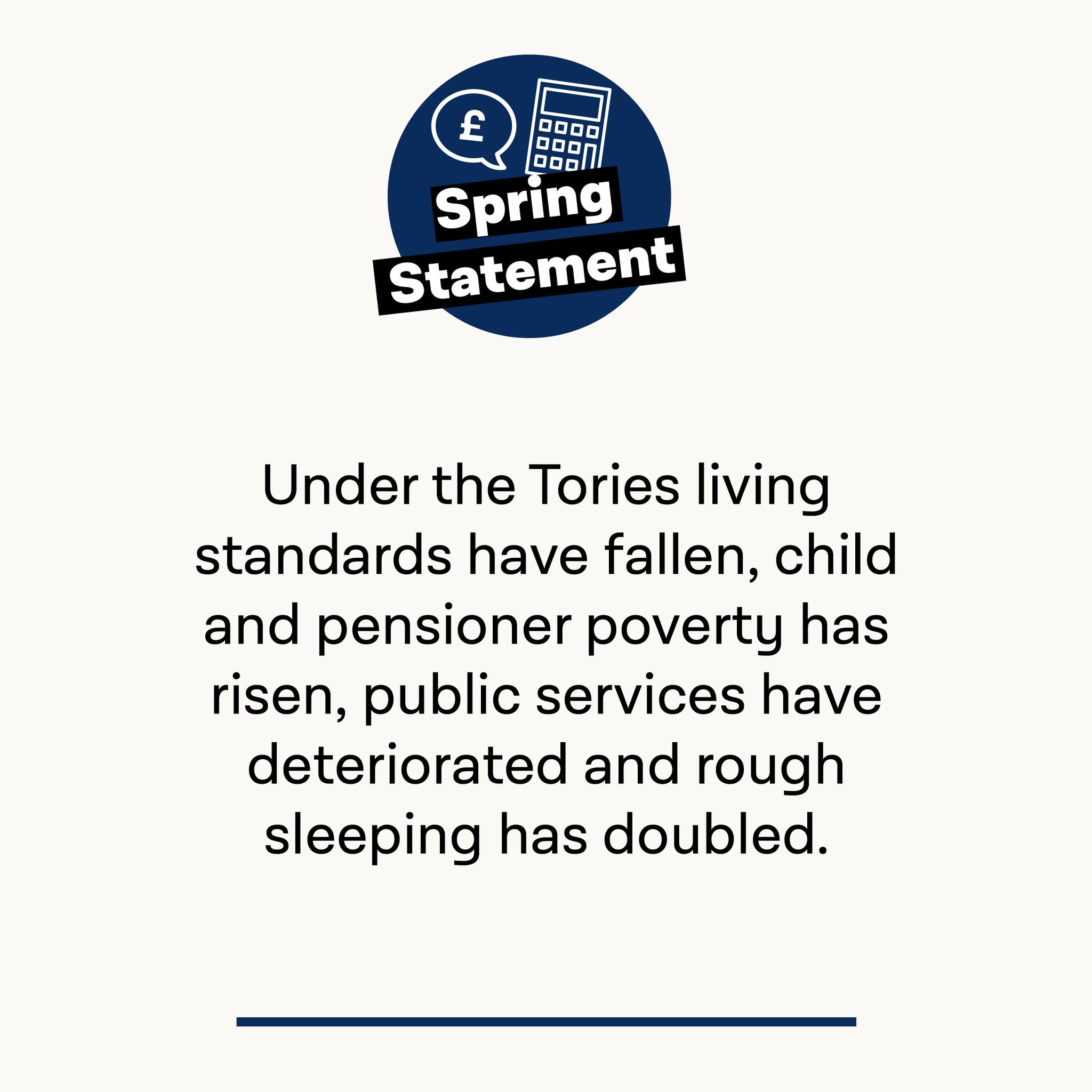 Britain is worse off under the Tories. #SpringStatement https://t.co/8Lzfb97tc0