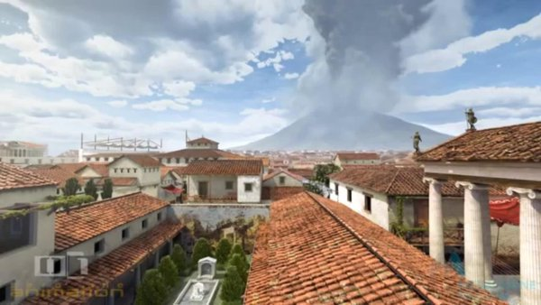 See the Destruction of Pompeii by Mount Vesuvius, Re-Created with Computer Animation. 79 AD https://t.co/zXluO72pFj https://t.co/NhUJI2nzY2