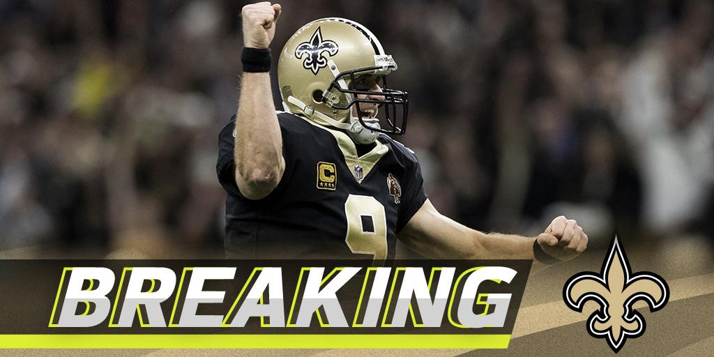 .@drewbrees, @Saints agree to two-year, $50M deal: https://t.co/5oUvDErf9C (via @RapSheet) https://t.co/jc212eVbaL