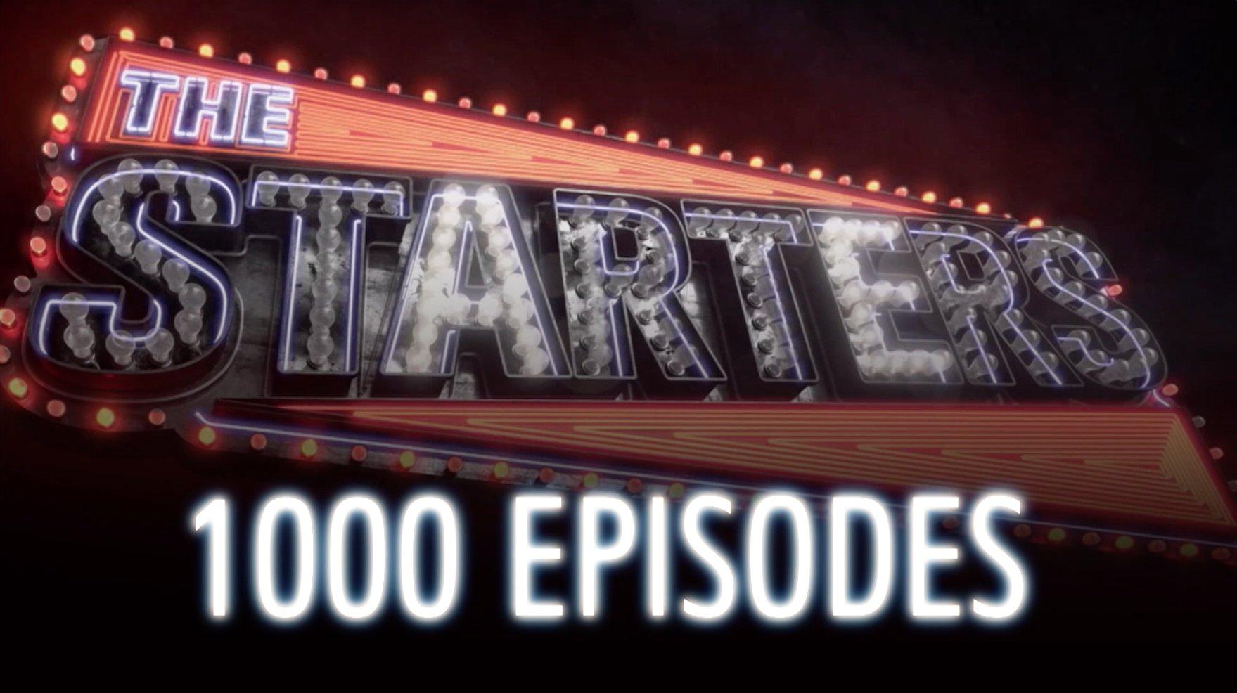 �� Don't miss history tomorrow night as #TheStarters hit Episode #️⃣1️⃣0️⃣0️⃣0️⃣ on NBA TV ��! �� https://t.co/uY21bn1AyK