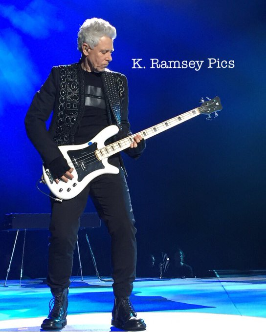 Happy 58th Birthday to Adam Clayton!   (picture taken by me in Seattle in May 2017)
