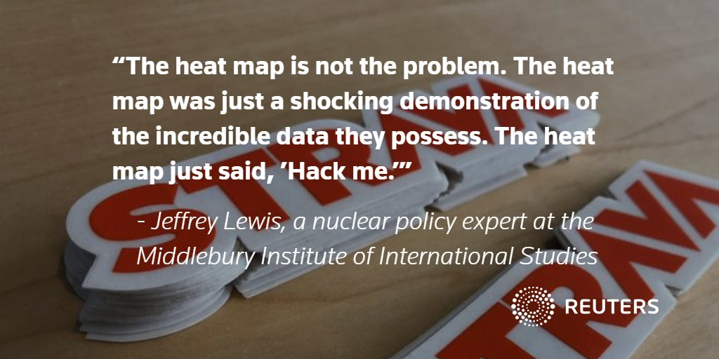 EXCLUSIVE: Fitness app Strava overhauls map that revealed military positions https://t.co/gnHkE9ubpj @David_Ingram https://t.co/WE7dk13EIf