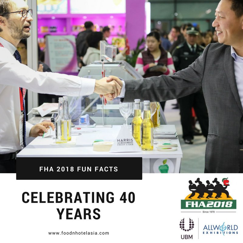 test Twitter Media - FHA2018 is celebrating its 40th anniversary. To mark this momentous occasion, we will be posting 40 fun FHA facts as the countdown to the show begins! Stay tuned and see why FHA has been leading the industry for 40 years! #FHA2018 #FHAFunFacts https://t.co/lG1TyzZ7qN https://t.co/rxcGmiHQKT