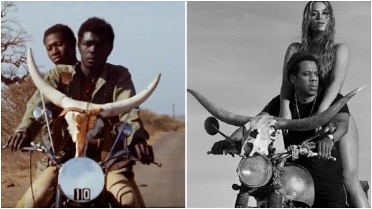 Here's the 1973 Senegalese film that inspired the On The Run II poster. https://t.co/HO66DfZGtB https://t.co/PUoGwOadqU