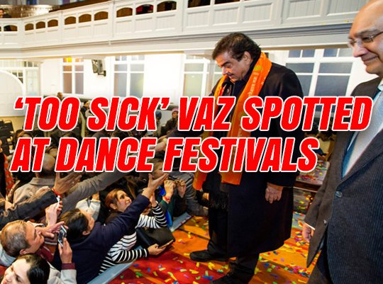 'Too Sick to Face Investigation' Vaz Attends Two Dance Festivals in One Week  https://t.co/hn4BeoAzKl https://t.co/rDV9ZcmgvD