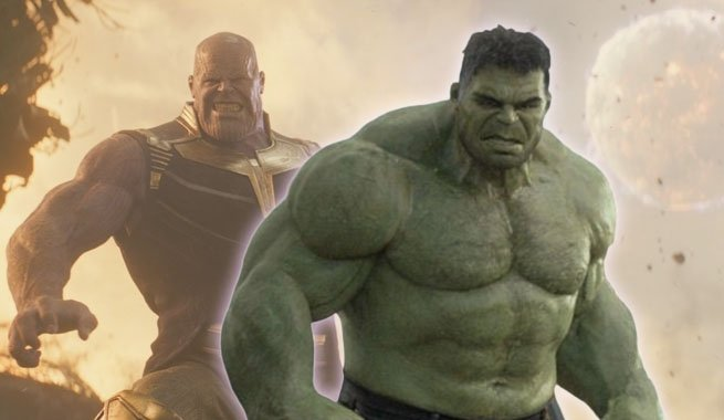 The Hulk is terrified of Thanos in Avengers: Infinity War and with good reason. https://t.co/UPObOmjxoT https://t.co/cfSbDVvxDS