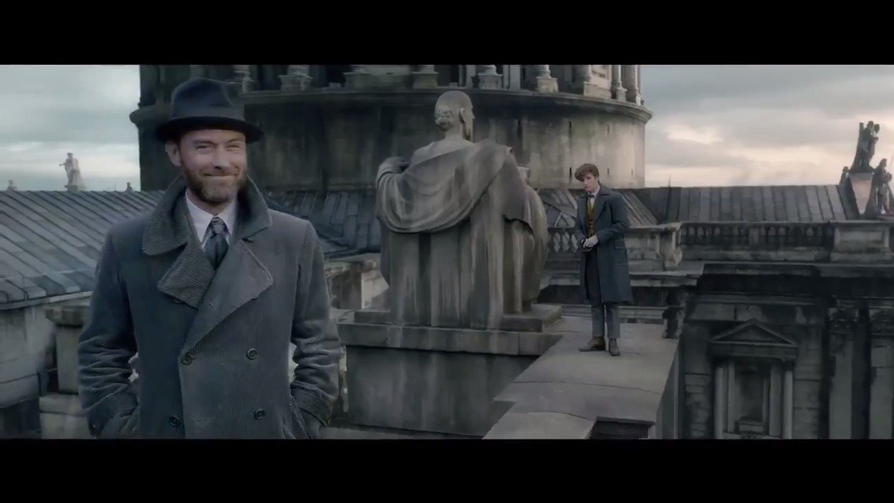#FantasticBeasts has conjured up its first trailer for The Crimes of Grindelwald https://t.co/jzorT4xSfC https://t.co/OP6HzKKlb1
