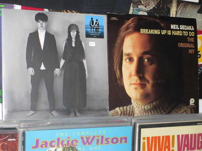 Happy Birthday to Adam Clayton of U2 & Neil Sedaka
