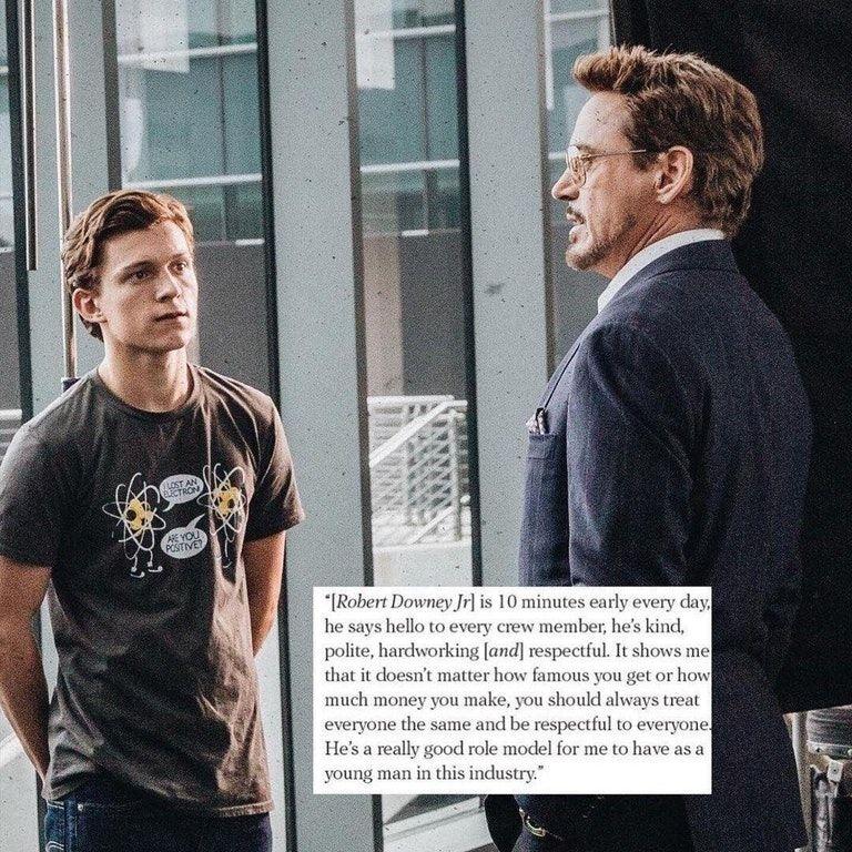How Robert Downey Jr. treats his crew: https://t.co/svuSBVFhNt