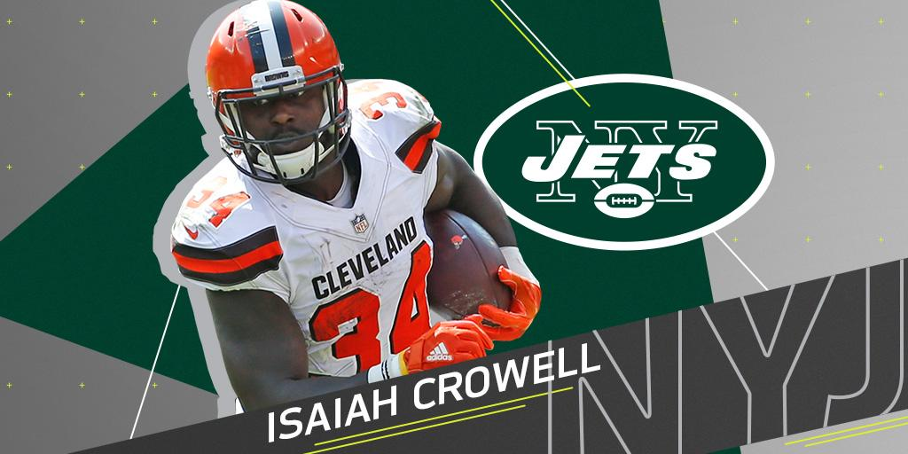 RB @IsaiahCrowell34 to sign with the @nyjets on a three-year deal: https://t.co/RfbWTKs0VK https://t.co/hfV71Ae0NU