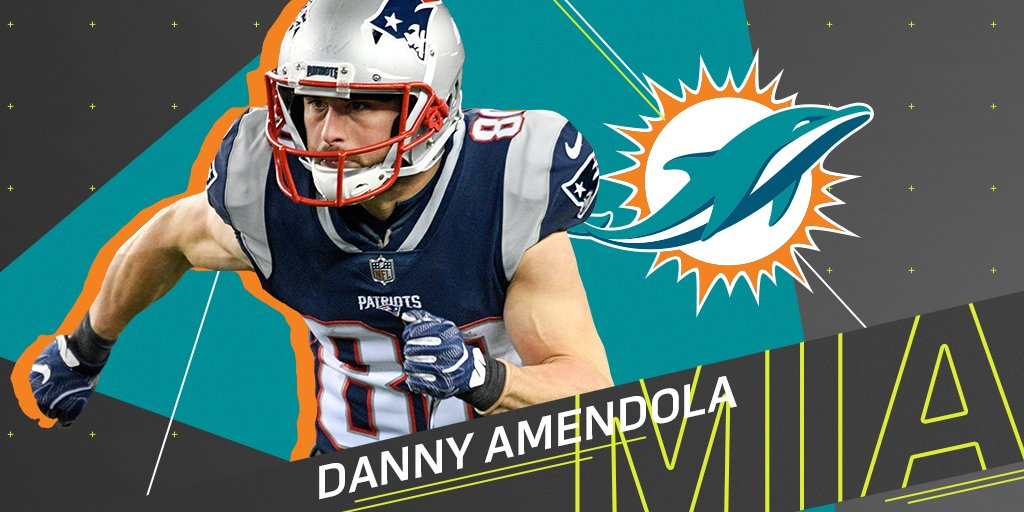 .@DannyAmendola expected to sign with @MiamiDolphins: https://t.co/4mUYORORVh (via @DanHellie) https://t.co/uTJZIQYje0