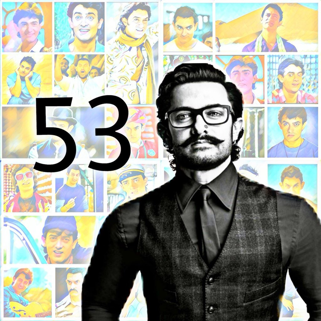 My teacher, my inspiration, my perfection Aamir bhai. Mujhe tumse pyaar karti hoon. Happy birthday
