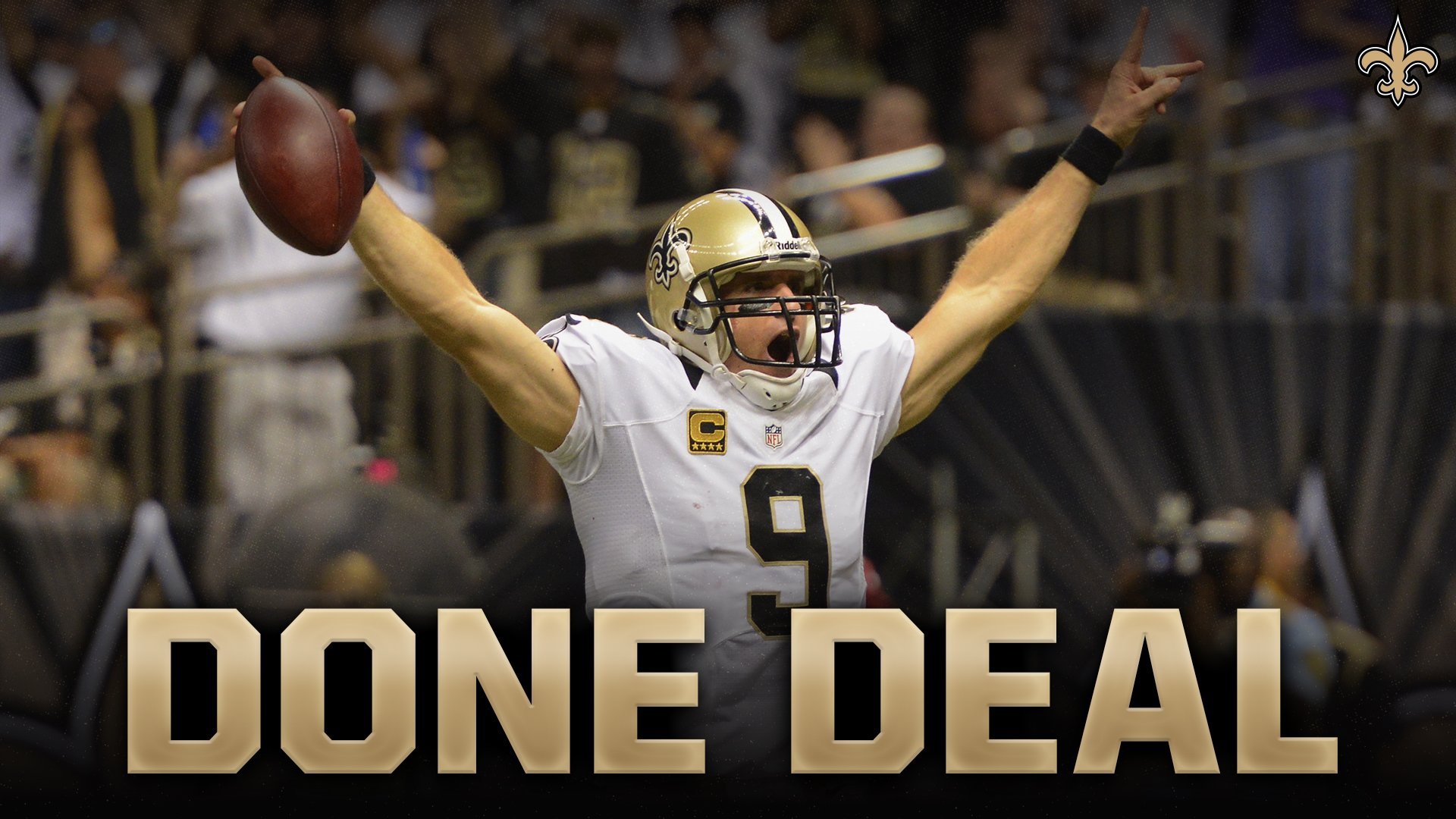 Saints, Drew Brees will continue their tremendous run together https://t.co/ctbIT5swgw by @JohnDeShazier #Saints https://t.co/ZsTnhfxLM0