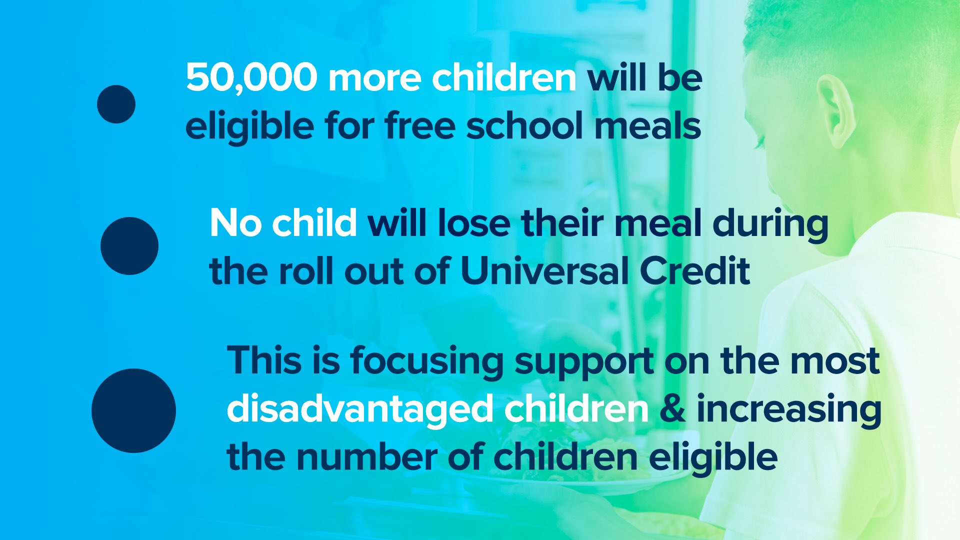 The facts on changes to eligibility for free school meals: https://t.co/zrcsc0tLIp