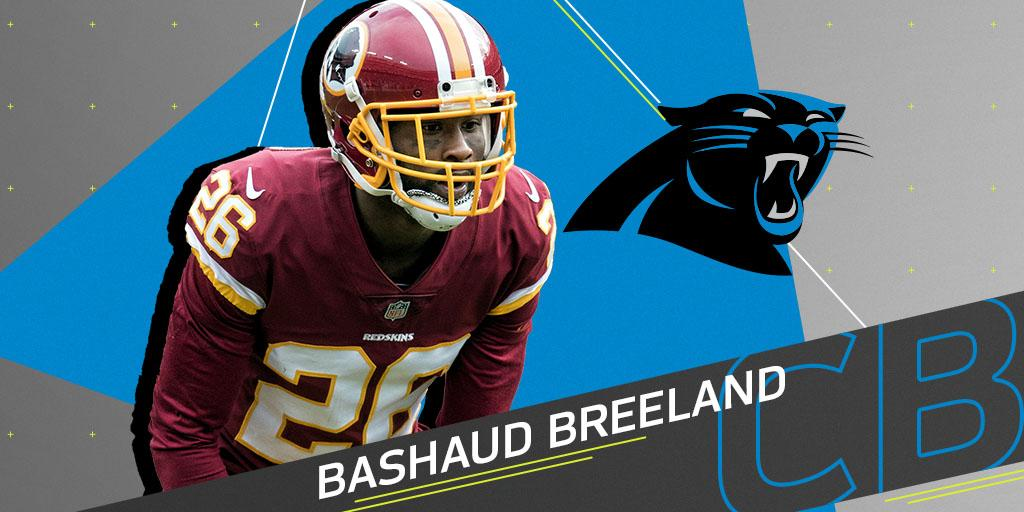 Panthers expected to sign CB Bashaud Breeland: https://t.co/A3qVrIaSNS (via @RapSheet) https://t.co/aBvtAtVpBn