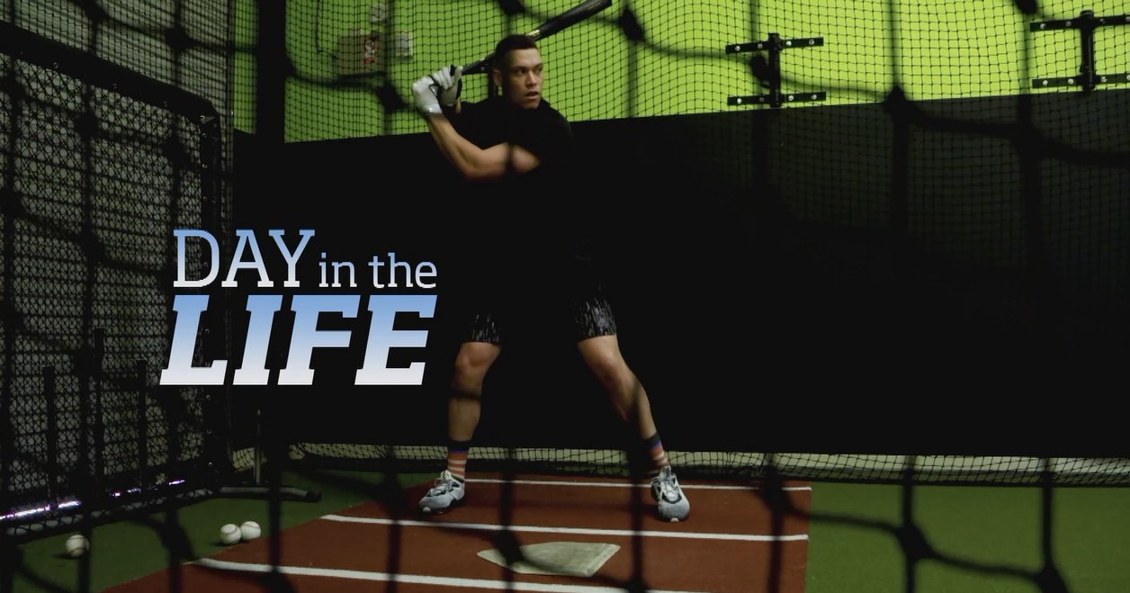 'I'm motivated by failure.' -@TheJudge44  See what makes up the man in the latest 'Day in the Life': https://t.co/j5FCR7GuOW