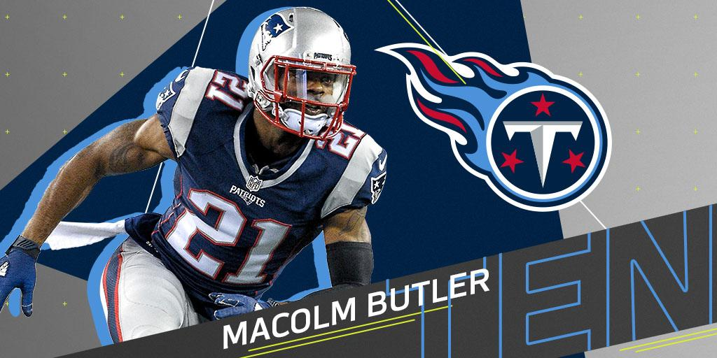 .@Titans to sign former Patriots CB Malcolm Butler (@Mac_BZ): https://t.co/7a23hLrt3K https://t.co/90MDlWGPk5