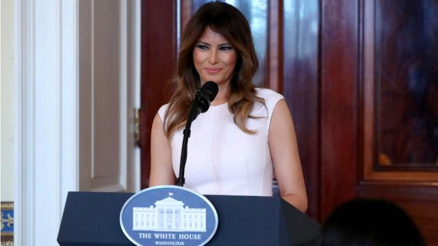 Melania Trump won't draft policy proposal to combat cyberbullying https://t.co/fEweKCBgNt https://t.co/zkoopR72q6