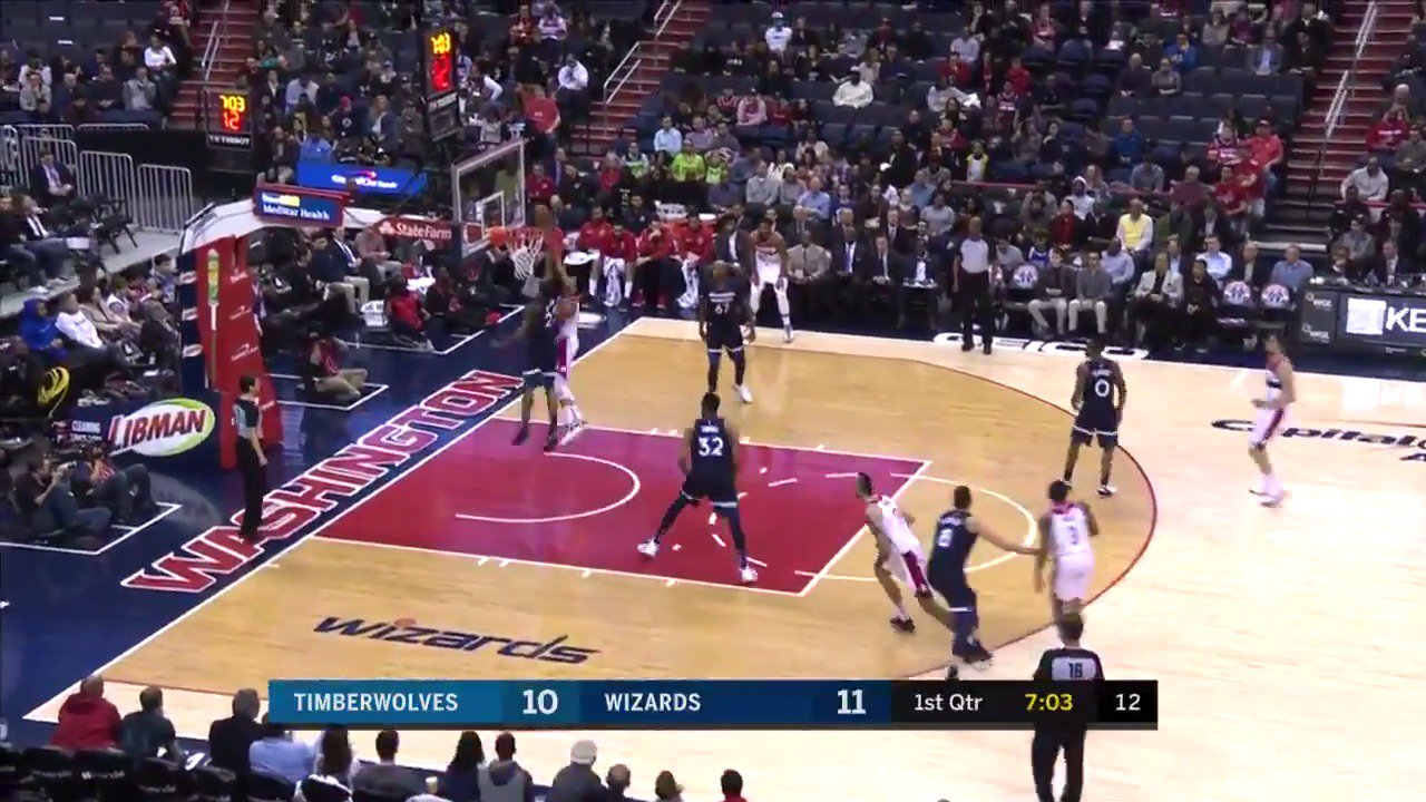 Wiggins erases it for the @Timberwolves on @NBATV!   #AllEyesNorth https://t.co/HoGM9mD9jd