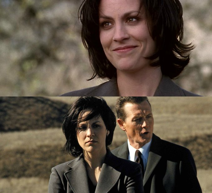 HL wishes a VERY Happy Birthday to X-Files veteran Annabeth Gish - ... (Martyn)