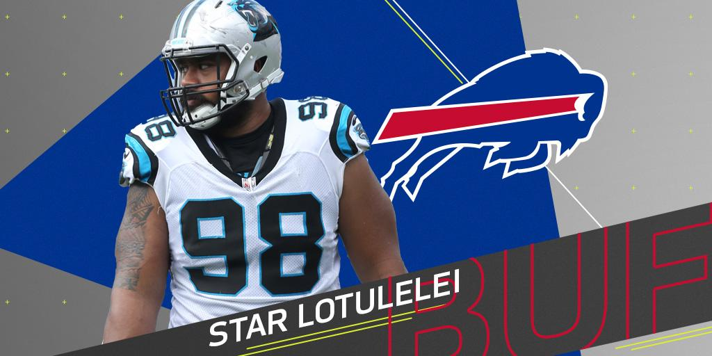 .@buffalobills expected to sign DT Star Lotulelei to five-year deal: https://t.co/uJ5aObMkW2 (via @MikeGarafolo) https://t.co/ihUYZ35p7U