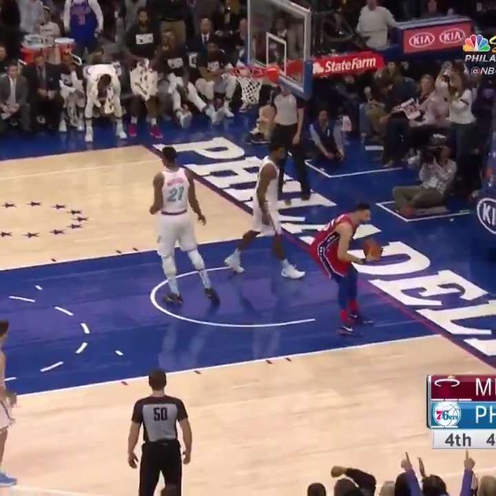 The best bucket and dime from each of Simmons' 7 triple-doubles, 2nd most all-time for a rookie!   #HereTheyCome https://t.co/dGGaxOmXki