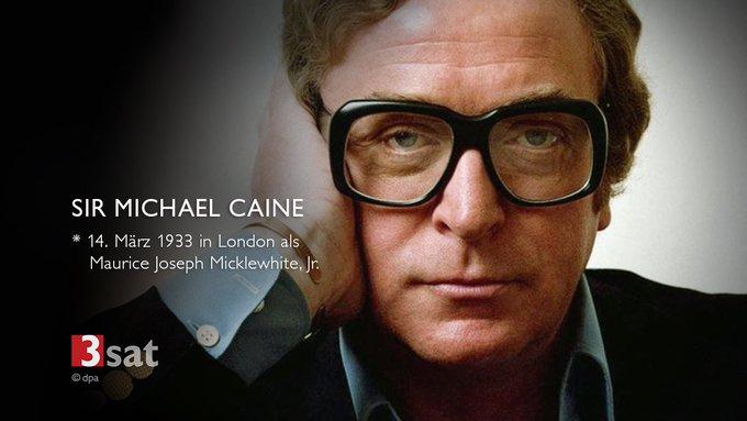 Wir lieben diese Brille! Happy Birthday, Michael Caine.