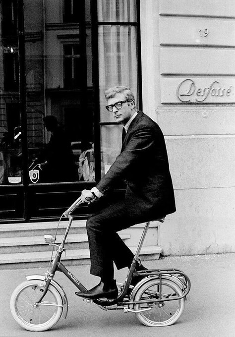 Happy 85th birthday Michael Caine   photographed by Giancarlo Botti in Paris in 1966