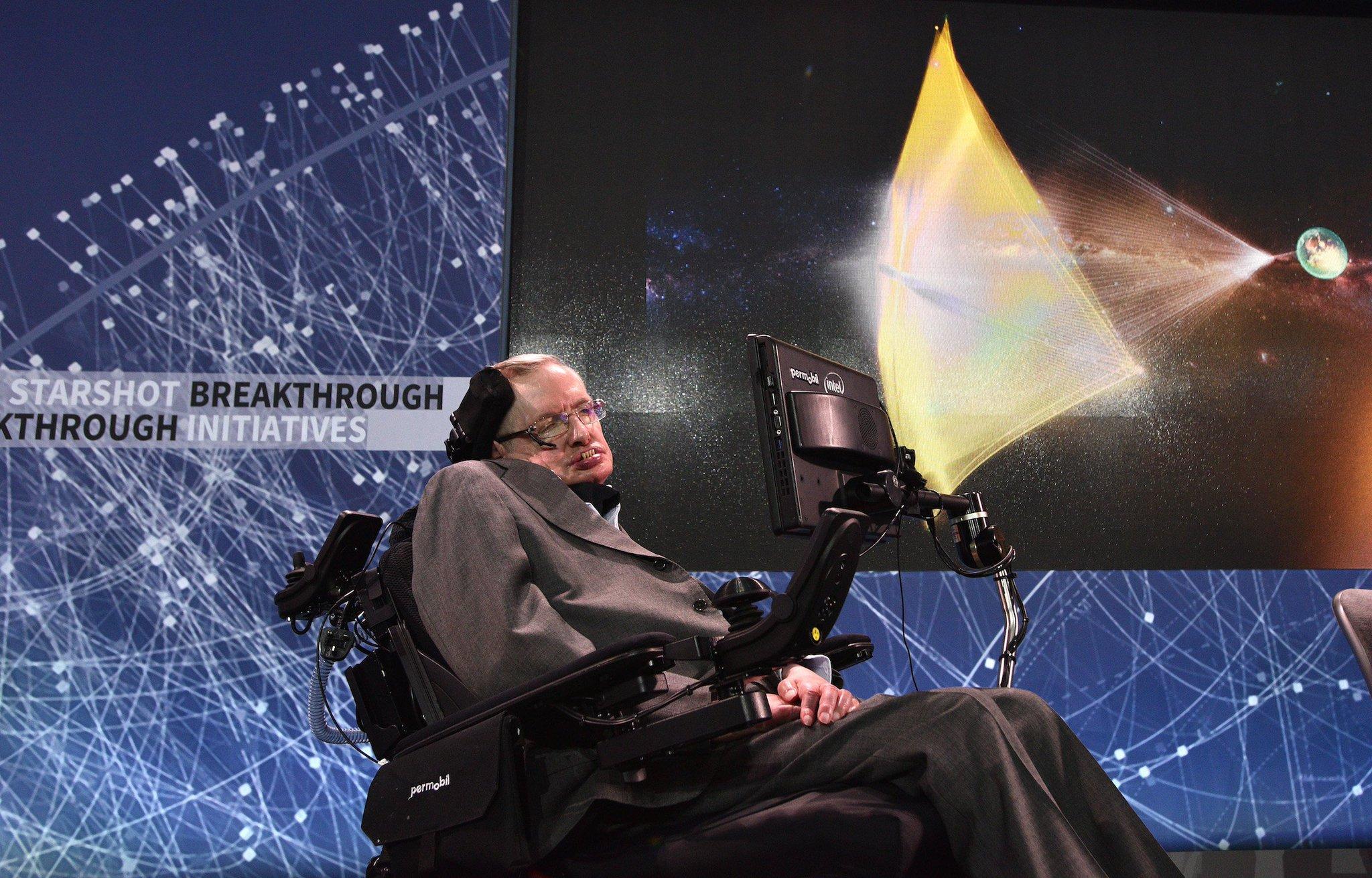 Stephen Hawking has died. https://t.co/AdliRZTDwi https://t.co/MLUY5IpV9V
